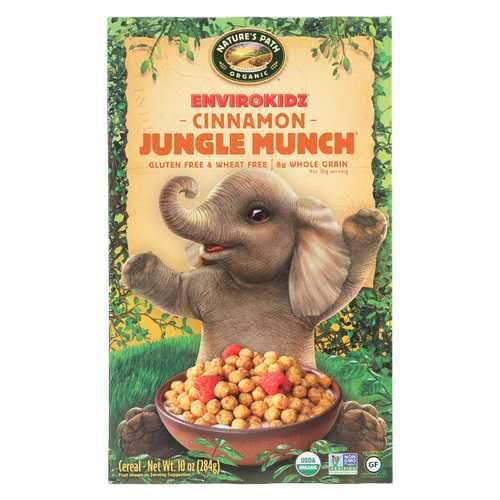 Envirokidz Organic Cereal - Jungle Munch - Case of 12 - 10 oz.