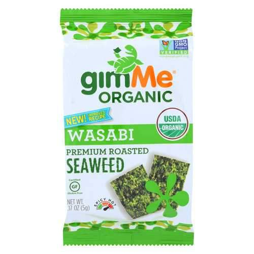 Gimme Organic Roasted Wasabi - Case of 12 - 0.17 oz.