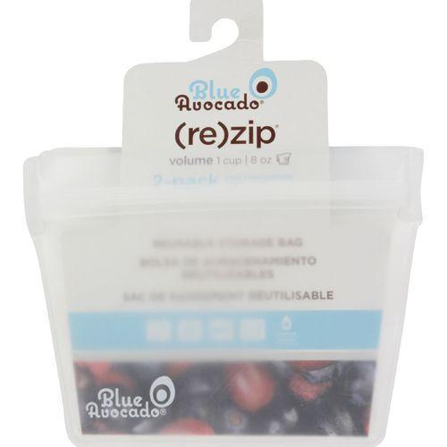 Blue Avocado Volume Zip Bag - 1 Cup - Translucent