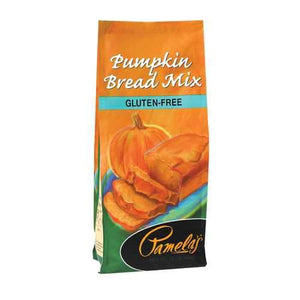 Pamela's Products Bread Mix - Pumpkin - Case of 6 - 16 oz.