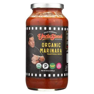 Uncle Steves Sauce - Marinara - Case of 6 - 25 oz.