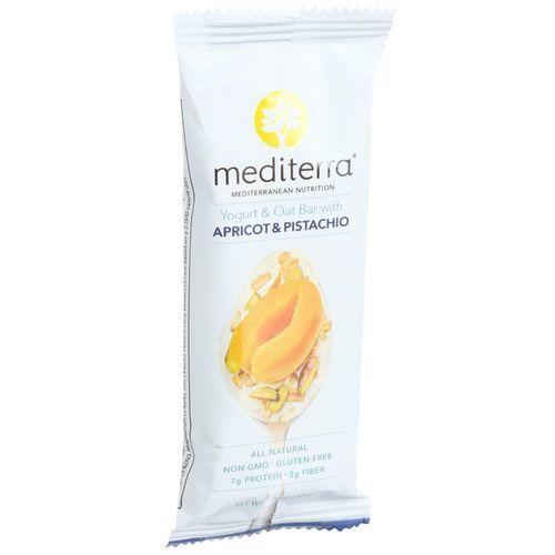 Mediterra Nutrition Yogurt and Oat Nutrition Bars - Apricot and Pistachio - 1.6 oz Bars - Case of 12