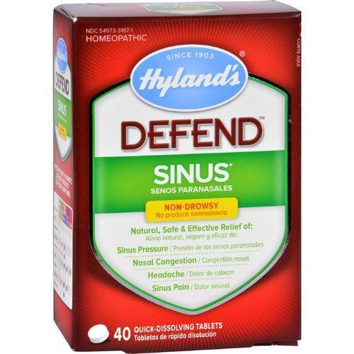 Hylands Homeopathic Sinus - Defend - 40 Tablets