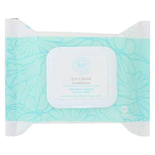 The Honest Company 3-In-1 Facial Towelettes - 30 Count