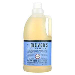 Mrs. Meyers Clean Day Laundry Detergent - Bluebell - Case of 6 - 64 Fl oz.