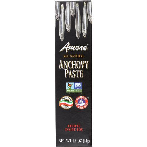 Amore Italian Anchovy Paste - Case of 12 - 1.6 oz.