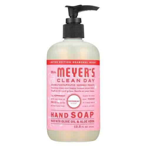 Mrs. Meyers Clean Day - Liquid Hand Soap - Peppermint - Case of 6 - 12.5 FZ