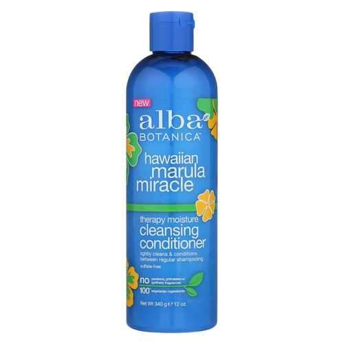 Alba Botanica Hawaiian Conditioner - Marula Cleansing - 12 fl oz
