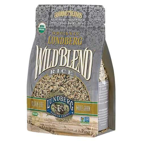 Lundberg Family Farms Organic Rice - Wild Blend - Case of 6 - 2 lb.