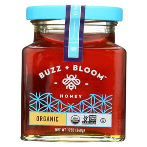 Buzz and Bloom Honey - Case of 6 - 12 oz
