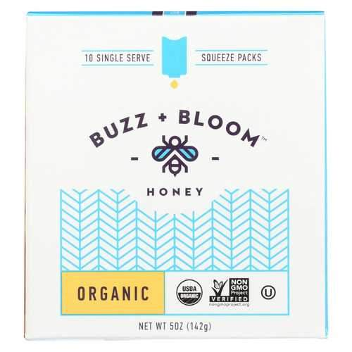 Buzz and Bloom Honey - Single Serve - Case of 12 - 5 oz