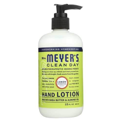 Mrs.Meyers Clean Day Hand Lotion - Limen Verbena - Case of 6 - 12 fl oz