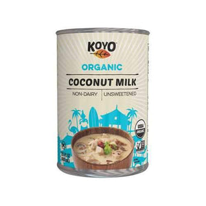 Koyo Organic Coconut Milk - Original - Case of 12 - 13.5 oz.