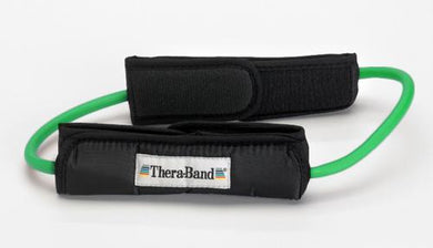 Theraband Prof Resist Tubing Loop w/Padded Cuffs Green