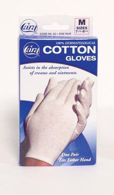 Cotton Gloves - White Large (Pair) Fits 8-1/2  - 9-1/2
