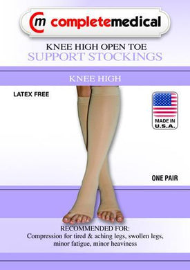 X-Frm Surg Weight Stkngs Large 30-40mmHg  Below Knee Open Toe