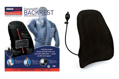 ObusForme CustomAIR Backrest w/Adj Lumbar Support
