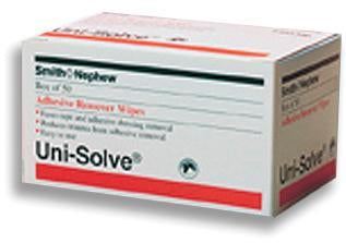 Uni-Solve Adhesive Remover Wipes  Bx/50