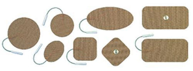 Uni-Patch Re-Ply Electrode 2  x 2  Snap Pk/4