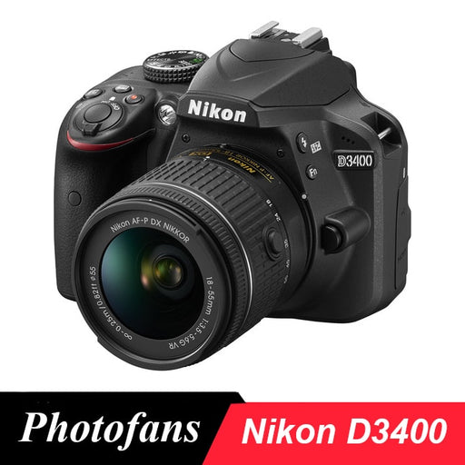 Nikon  D3400 DSLR Camera  -24.2MP  W/ Video & Bluetooth
