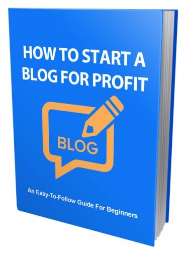 How To Start a Blog For Profit
