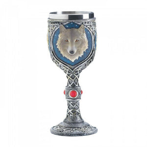 Timber Wolf Goblet