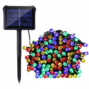 100 Led Solar String Light- Multi Color