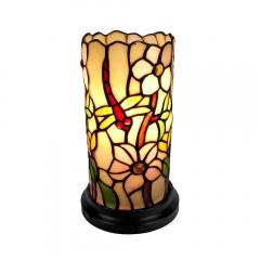 Tiffany Dragonfly/Daisy Mini Table Lamp - FREE Shipping