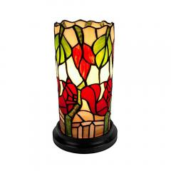 Tiffany Floral Mini Table Lamp  FREE Shipping