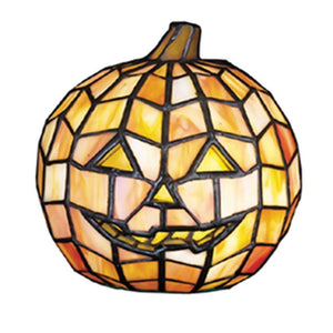 "Orange Jack-O'Lantern Accent Lamp 7""H FREE Shipping"