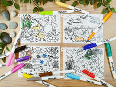 DrawnBy: Silicone Story Mat - The Ugly Duckling