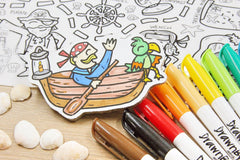 Ahoy There DrawnBy: Colour Mat