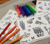 Colouring Stickers (Dance Set of 3)