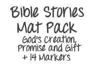 DrawnBy: Bible Stories Mat Pack