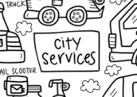 City Services Washable Silicone Colouring Mat