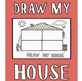 Draw My House Silicone Drawing Mat