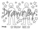 Draw Me Washable Silicone Drawing Mat