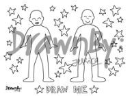 Draw Me Silicone Drawing Mat