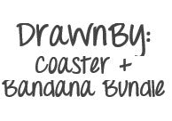 DrawnBy: Coaster and Bandana Bundle