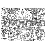 God's Gift Washable Silicone Colouring Mat