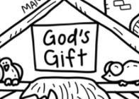 God's Gift Silicone Bible Stories Mat