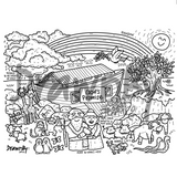 God's Promise Washable Silicone Colouring Mat