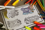 Colouring Stickers (Booster Set of 3)