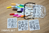 DrawnBy: Coaster Set (3 coasters)