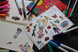 Colouring Stickers (Basic Set of 3)