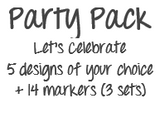 DrawnBy: Party Pack