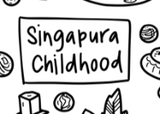 Singapura Childhood Silicone Colouring Mat