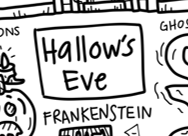 Hallow's Eve Silicone Colouring Mat