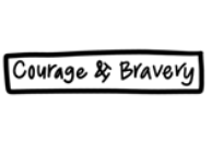 Courage & Bravery Washable Silicone Coaster Mat