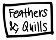 Feathers & Quills Washable Silicone Coaster Mat